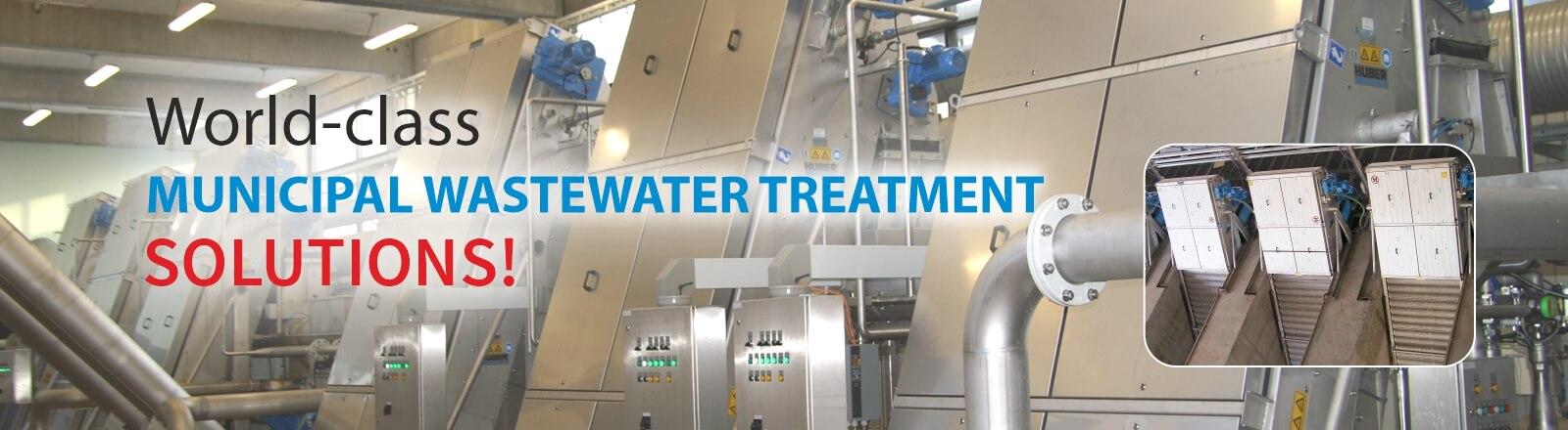 HUBER Screenings Wash Press WAP®