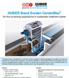 HUBER Band Screen CenterMax®