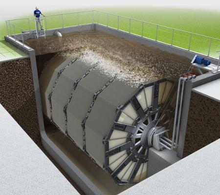 Huber Membrane Filtration VRM®