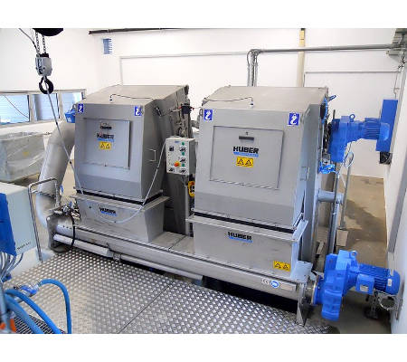 HUBER Screenings Wash Press WAP®