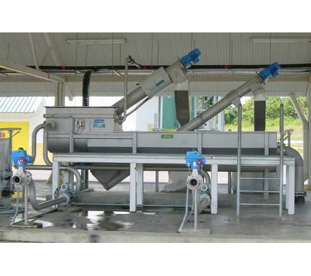 HUBER Sludge Acceptance Plant ROTAMAT® Ro3